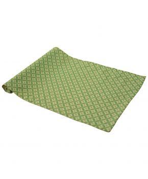Дорожка на стол Home Glay зеленый
