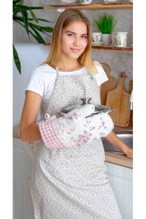 Кухонный фартук Bella Серый витраж