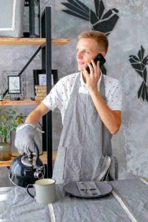 Мужской кухонный фартук HYGGE Black