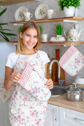 Набор фартуков для мамы и дочки Bella