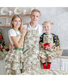 Набор фартуков Family Look Елочка