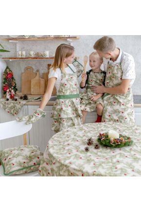 Набор фартуков Family Look Елочка