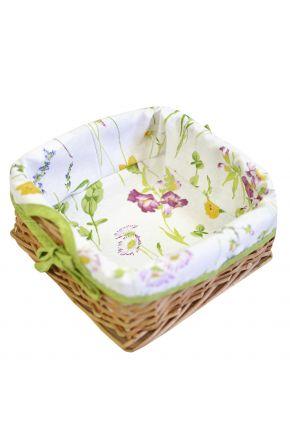 Хлебница плетенная Living Весна