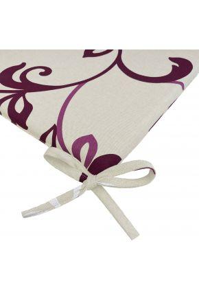 Подушка на стул Элит Беж с узором