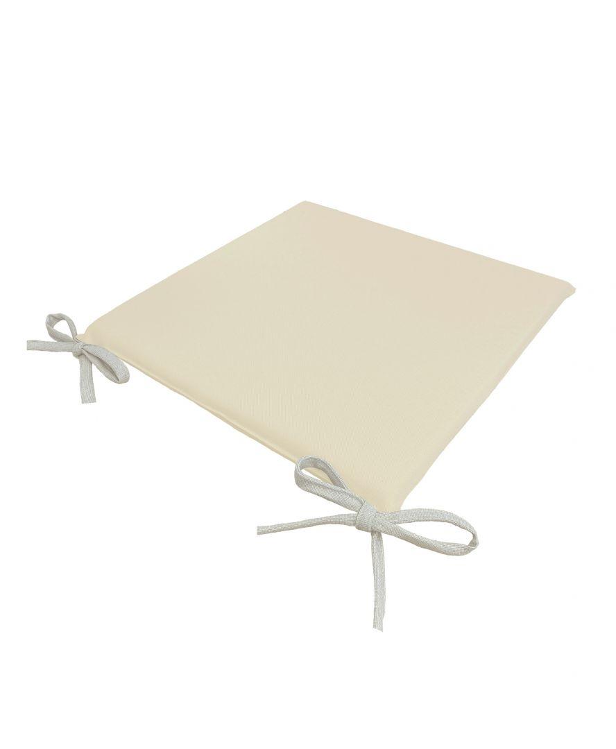 Подушка на стул Элит Натурал/Беж