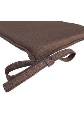 Подушка на стул Элит Шоколад