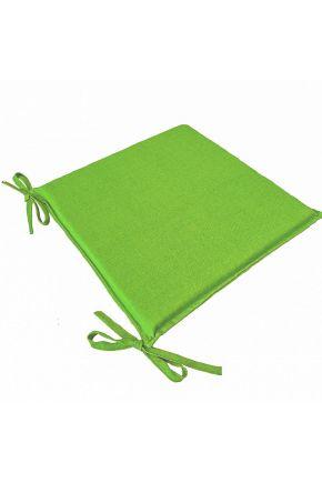 Подушка на стул Элит Ярко-зеленая