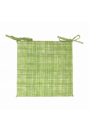 Подушка на стул Элит Зеленая полоска