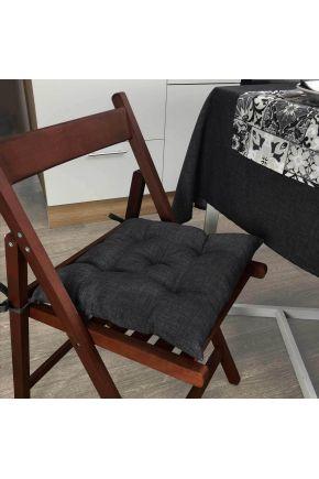 Подушка на стул Black Milan