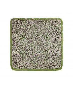 Чехол на табурет Цветы-Олива