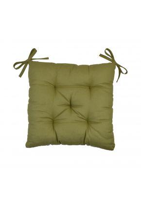 Подушка на стул хаки
