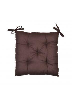 Подушка на стул шоколад