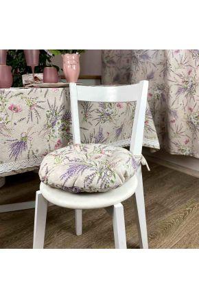 Подушка круглая на стул Grosso