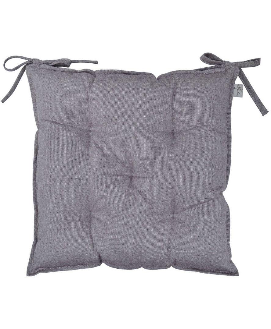 Подушка на стул Баклажан