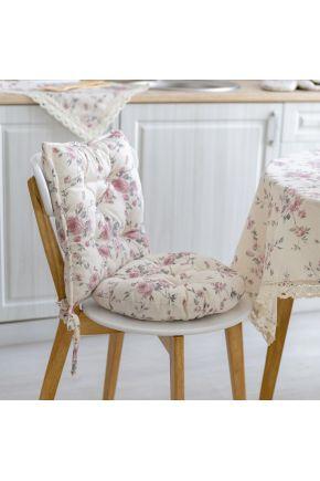 Подушка на стул Bella Розы