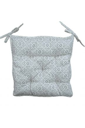 Подушка на стул Bella Серый витраж