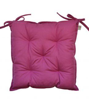 Подушка на стул Фуксия