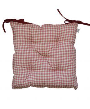 Подушка на стул Глория Клеточка