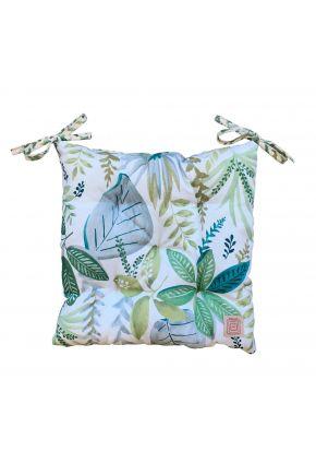 Подушка на стул Helen листья