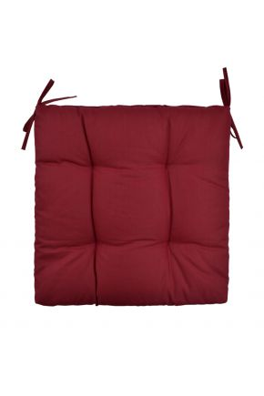 Подушка на стул ХИТ красная
