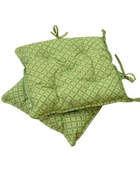 Подушка на стул Home Glay зеленая