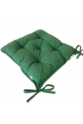 Подушка на стул Хвоя зеленая
