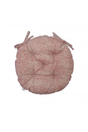 Подушка на стул круглая La Nuit ORO Бордо