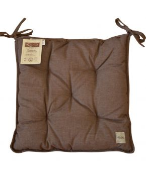 Подушка на стул La Nuit МАРКИ шоколад