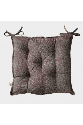 Подушка на стул La Nuit ORO Коричневая