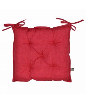 Подушка на стул La Nuit РОУЗ Красная