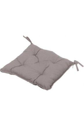 Подушка на стул La Nuit ШАТО коричневый горох