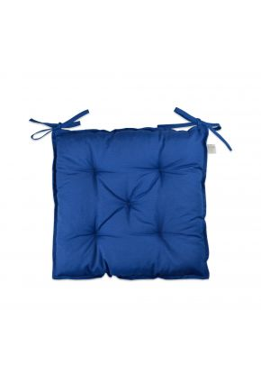 Подушка на стул Синяя