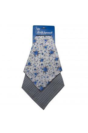 Набор полотенец Blue 33х55см