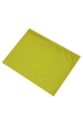 Вафельное полотенце салатовое