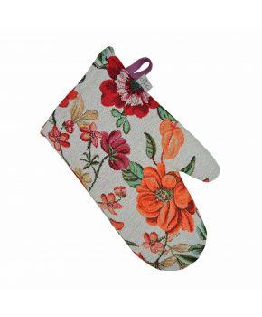 Гобеленовая рукавица Цветочное поле