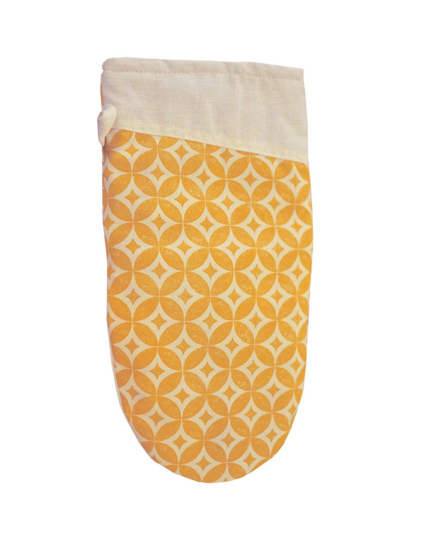 Кухонная рукавица Home Glay бежево-желтая