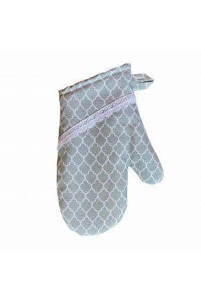 Кухонная рукавица La Nuit Агата вензель верде