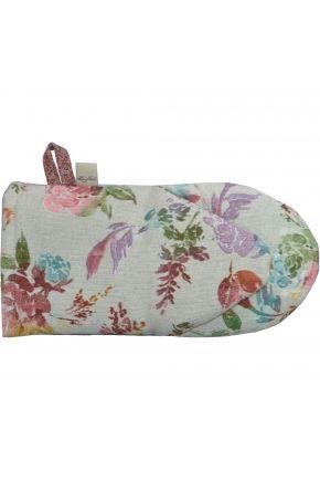 Кухонная рукавица La Nuit ORO Роза разноцветная