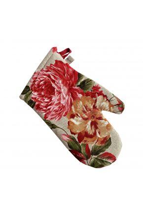 Кухонная рукавица La Nuit РОУЗ Цветы большие