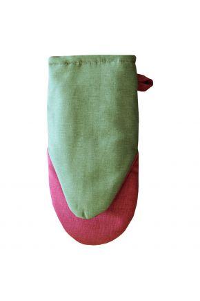 Рукавица для кухни MONO Green/Pink
