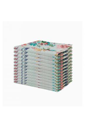 Набор 12 ед салфеток на стол ORO Разноцветная роза