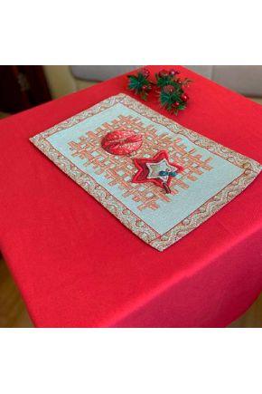 Гобеленовая салфетка новогодняя Пряности