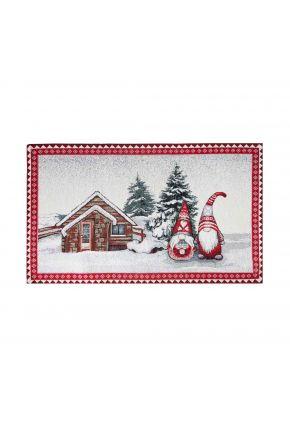 Гобеленовая салфетка новогодняя Snowfall