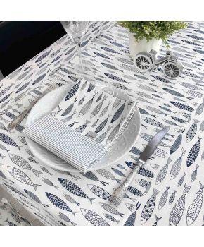 Салфетка на стол  La Nuit FISH Рыбки