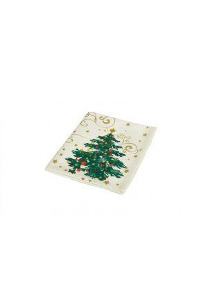 Тканевая салфетка на стол Новогодняя сказка