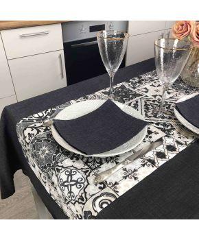 Салфетка на стол Black Milan