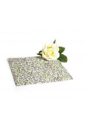 Салфетка на стол цветы олива