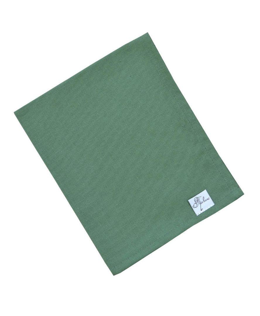 Салфетка на стол Хвоя зеленая