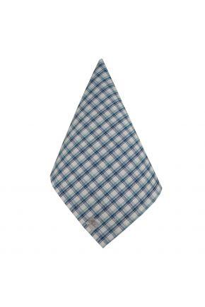 Салфетка на стол Кантри синяя клеточка
