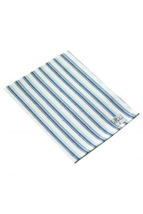 Салфетка на стол Кантри синяя полоска